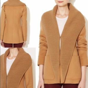 NWT $600 MACKAGE CAMEL WOOL COAT